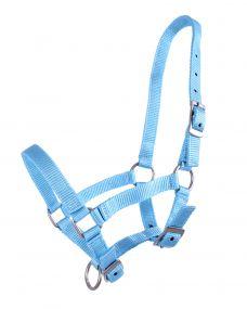 Head collar foal Lightblue Full-foal 04