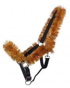 Head collar Christmas garland Gold Full