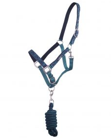 Head collar set with turnout Collection Illusion Pony