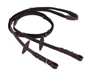 Web reins Dark brown Full