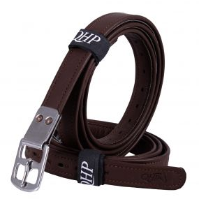Stirrup leather ultra strong Dark brown 150