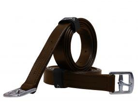 Stirrup leather basic Dark Brown 150cm