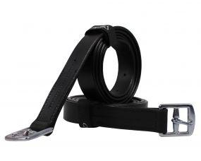 Stirrup leather basic Black 150cm