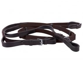 Web rein elastic Dark brown Full