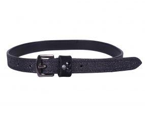 Spur straps Shimmer Black