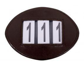 Number holder Modeste Brown