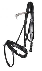 Bridle draft horse Elegance Black XXL