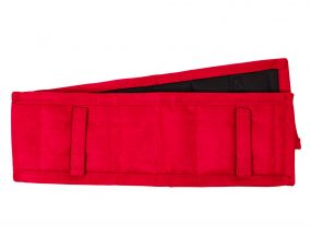Lunging/harness pad Bright red 110cm