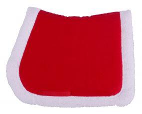 Christmas saddle pad Red Full