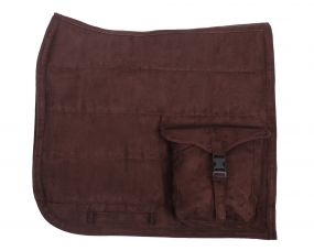 Puff pad with pockets Brown Full