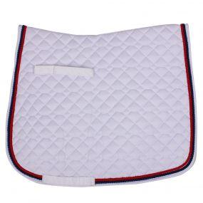 Saddle pad Coco Estate White AP Full