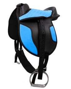 Shetland saddle Blue Shet