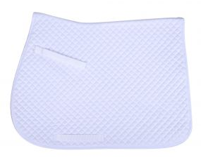 Saddle pad Color White AP Full