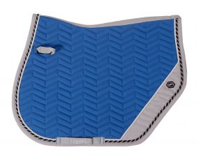 Saddle pad Shiva Cobalt blue/grey AP Full