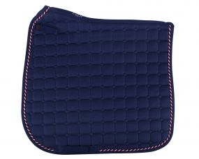 Saddle pad Flags Navy r/w/b AP Full