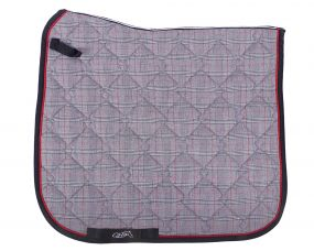 Saddle pad Check Grey check AP Full