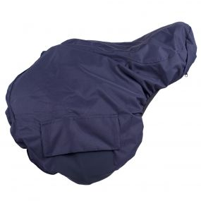 Saddle cover turnout extra Navy AP Full