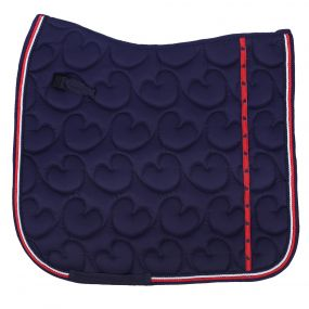 Saddle pad Q Friesian Navy D Full