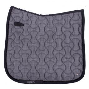 Saddle pad Metallic glitz Grey AP Pony