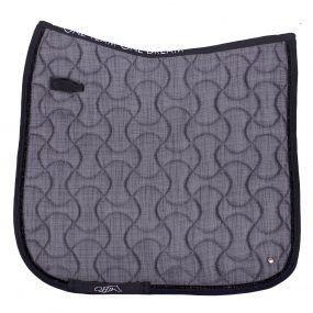 Saddle pad Metallic glitz Grey AP Full