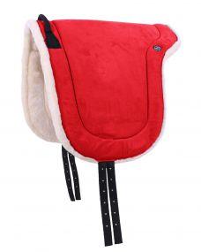 Bareback pad Bright red Full