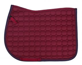 Saddle pad Florence Burgundy AP Full