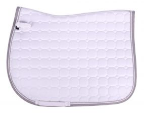Saddle pad Florence White AP Shet