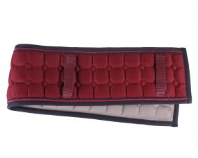 Lunging/harness pad Florence Burgundy 110cm