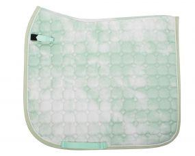Saddle pad Tie dye Mint green AP Full