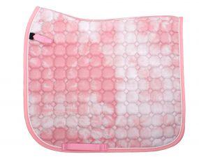 Saddle pad Tie dye Pink AP Full