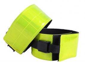 Reflection leg straps (per 2) Yellow