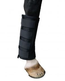 Cooling tendon boot Black Full
