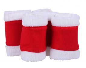 Bandages Christmas Red