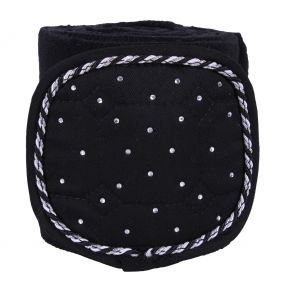 Fleece bandages Sparkle Black 3m