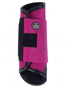 Eventing boots hind leg technical Fuchsia XL