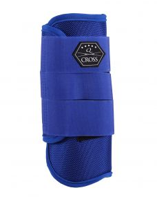 Eventing boots front leg Cobalt blue XL