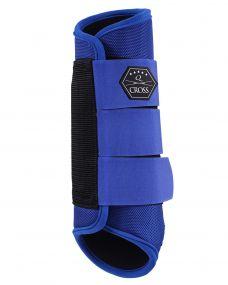 Eventing boots hind leg Cobalt blue XL