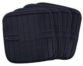 Bandage pads Metallic glitz Black 45x45