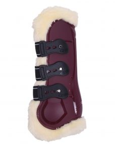 Tendon boots Ontario Burgundy Full