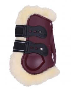 Fetlock boots Ontario Burgundy Full