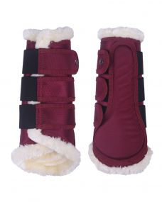 Leg protection Astana Burgundy XL
