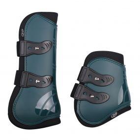 Tendon boots set Dark green Full