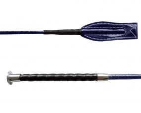 Jumping whip comfort handle Blue 65cm