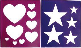 Brush Pattern Purple/Pink