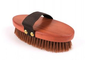 Body brush timber brown 10 pieces