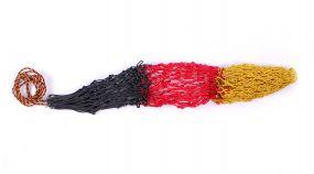 Hay net Triple Yellow/red/black 120cm