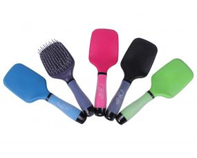 Mixed box with tail and mane brush mixed colors (10pcs)