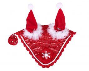Ear hat Christmas red Full