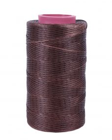 Plaiting thread waxed (10pcs) Brown
