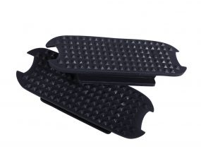 Stirrup pads Color Black 12cm